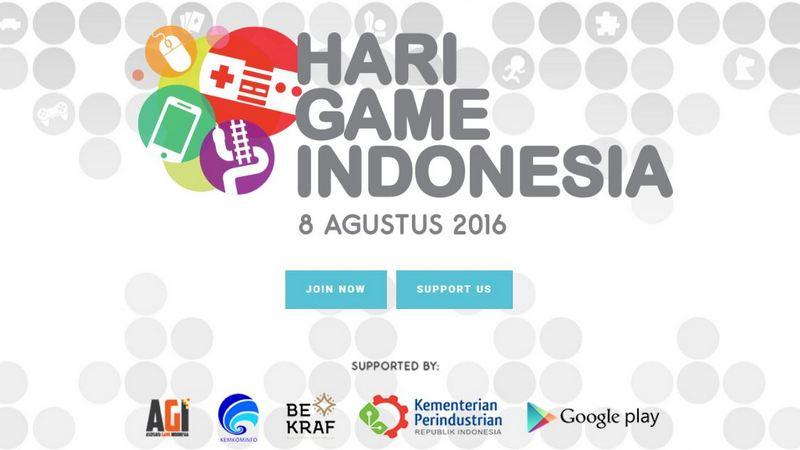 Hari Game Indonesia Telah Resmi Ditetapkan!