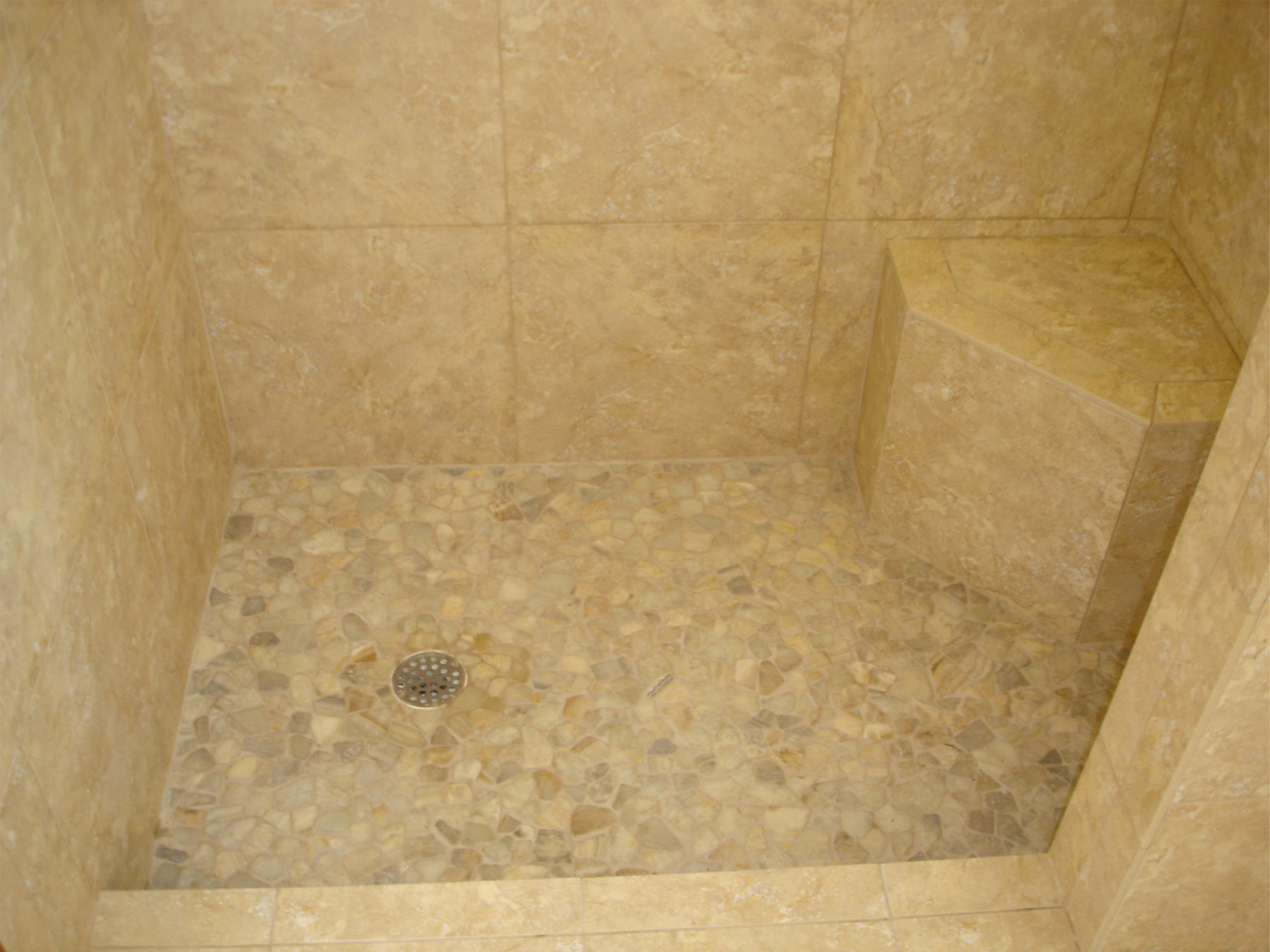 River Rock Tile Shower Floor Tek Tile – Custom Tile & Designs | Providing Top Quality
