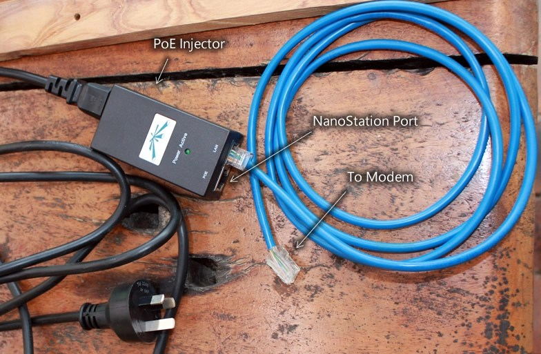 How to extend WiFi coverage using an Ubiquiti NanoStation