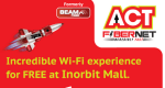 ACT Fibernet Offers Free WiFi At Inorbit Mall In Hyderabad