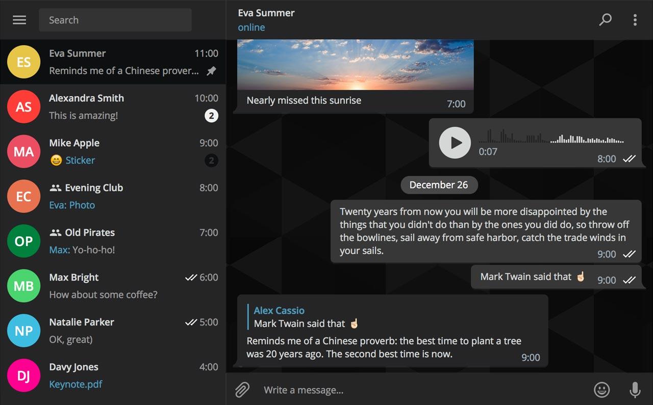 Interactive Wallpaper Iphone X Telegram Desktop Reaches Version 1 0 And It S Beautiful