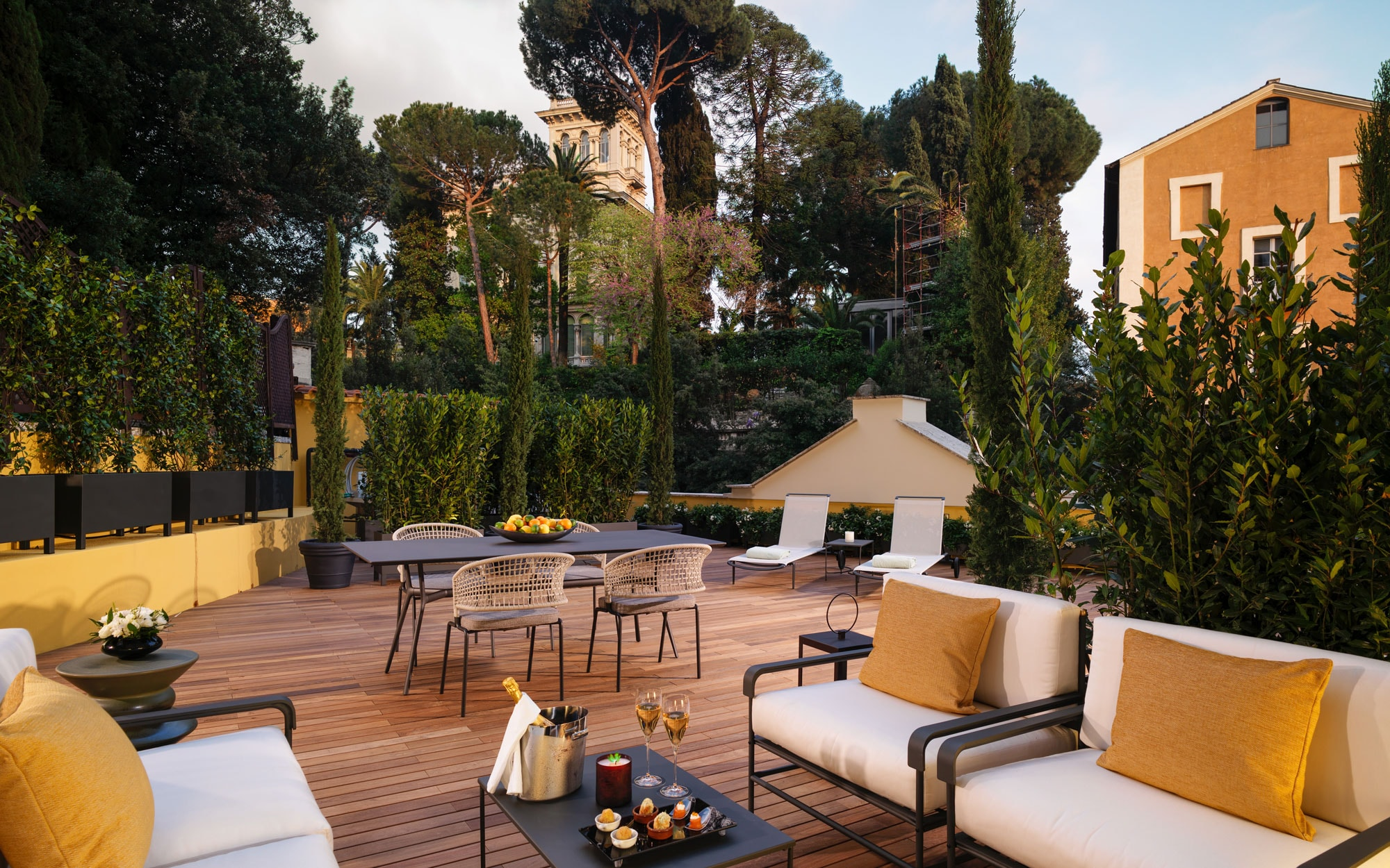 Hotel Terrasse Hotel Eden Review Rome Italy Travel