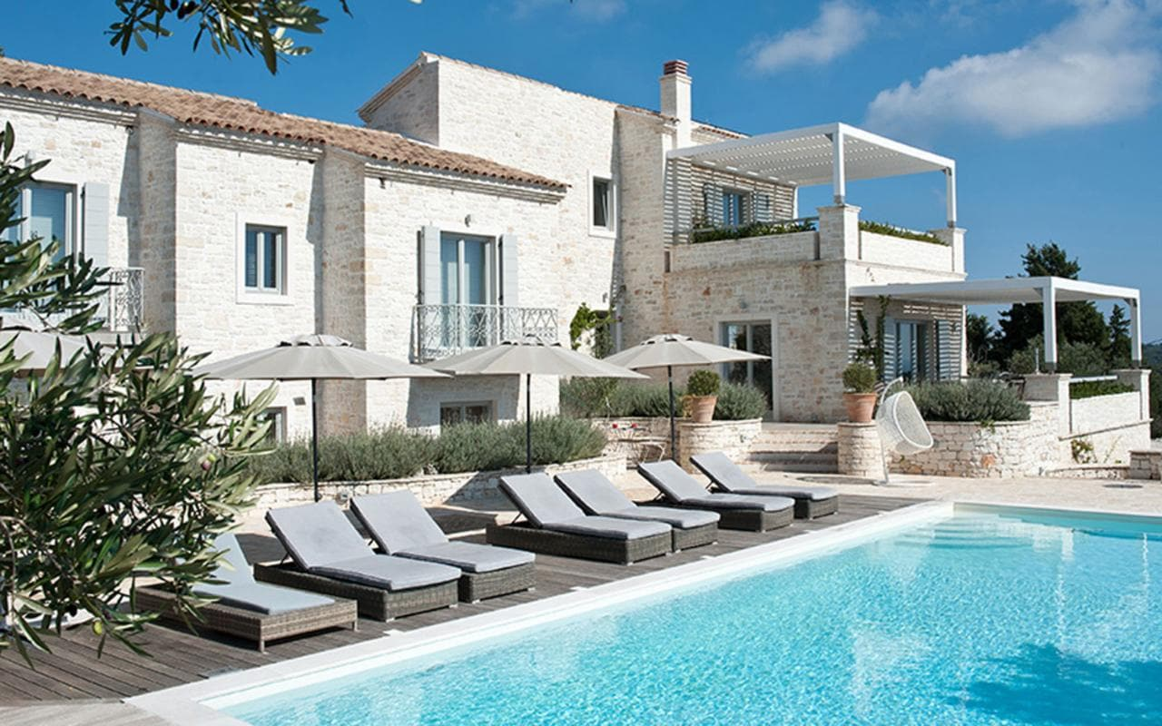 Holidays Villas The Top 10 Villa Holidays In Greece Telegraph