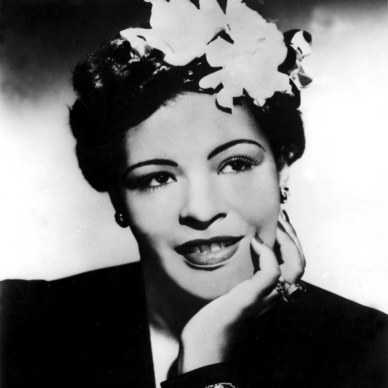 Billie Holiday Beauty Flashback Billie Holiday 39s Flower Filled Hair