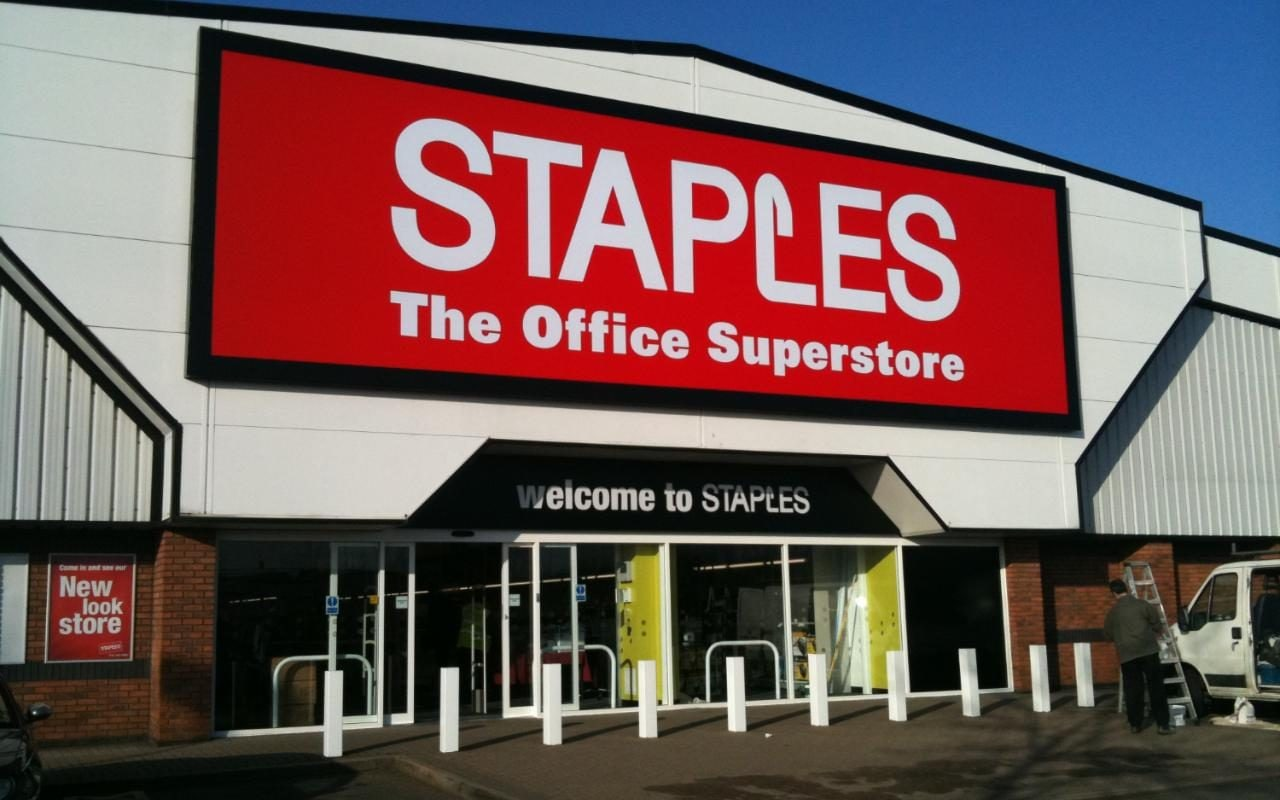 Office Stores Staples Stores To Vanish From Uk High Street