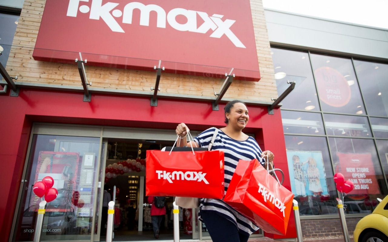 Store Banne Z Wave Tk Maxx Boosts Sales To Nearly 3bn