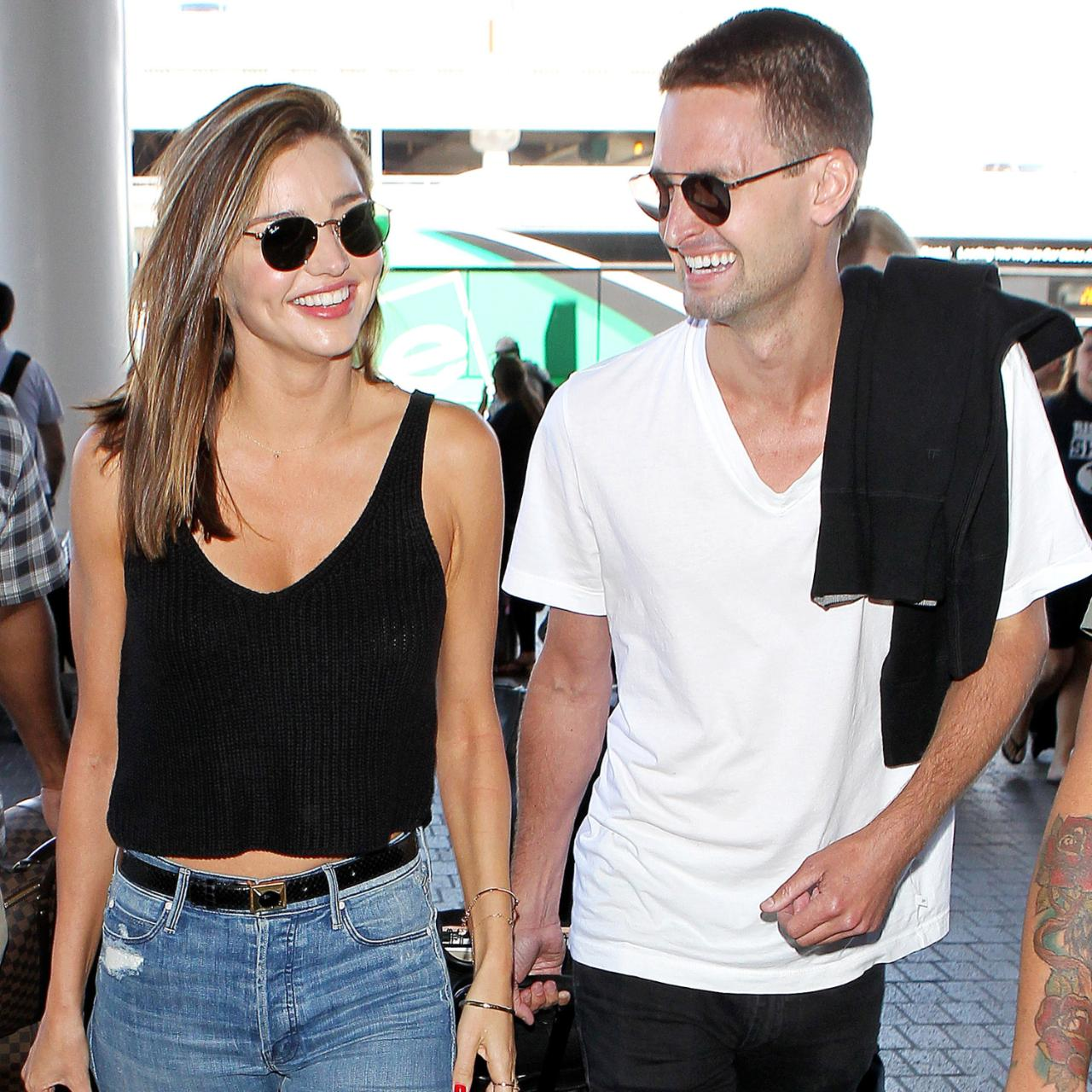 Spiegel Online Shop Miranda Kerr And Evan Spiegel Go Public With Romance