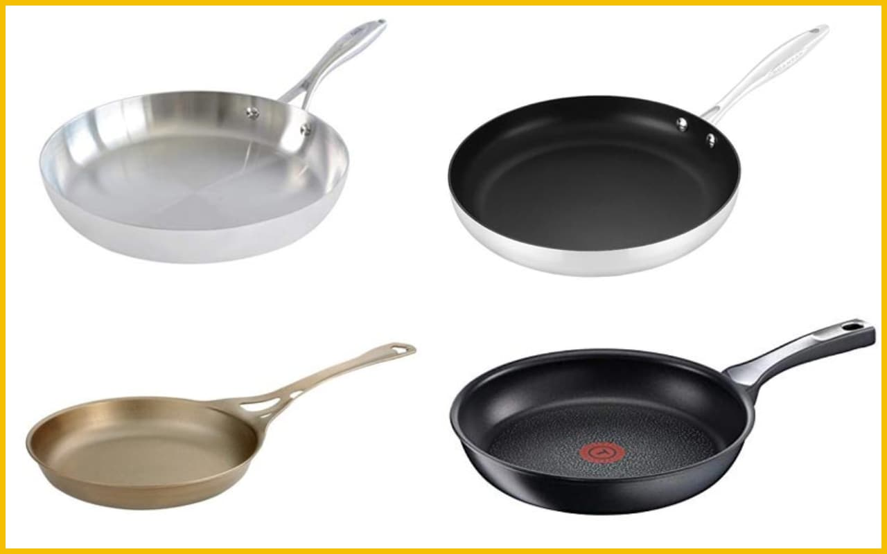Stainless Steel Frying Pan The Best Frying Pans You Can Buy From Cast Iron To Non