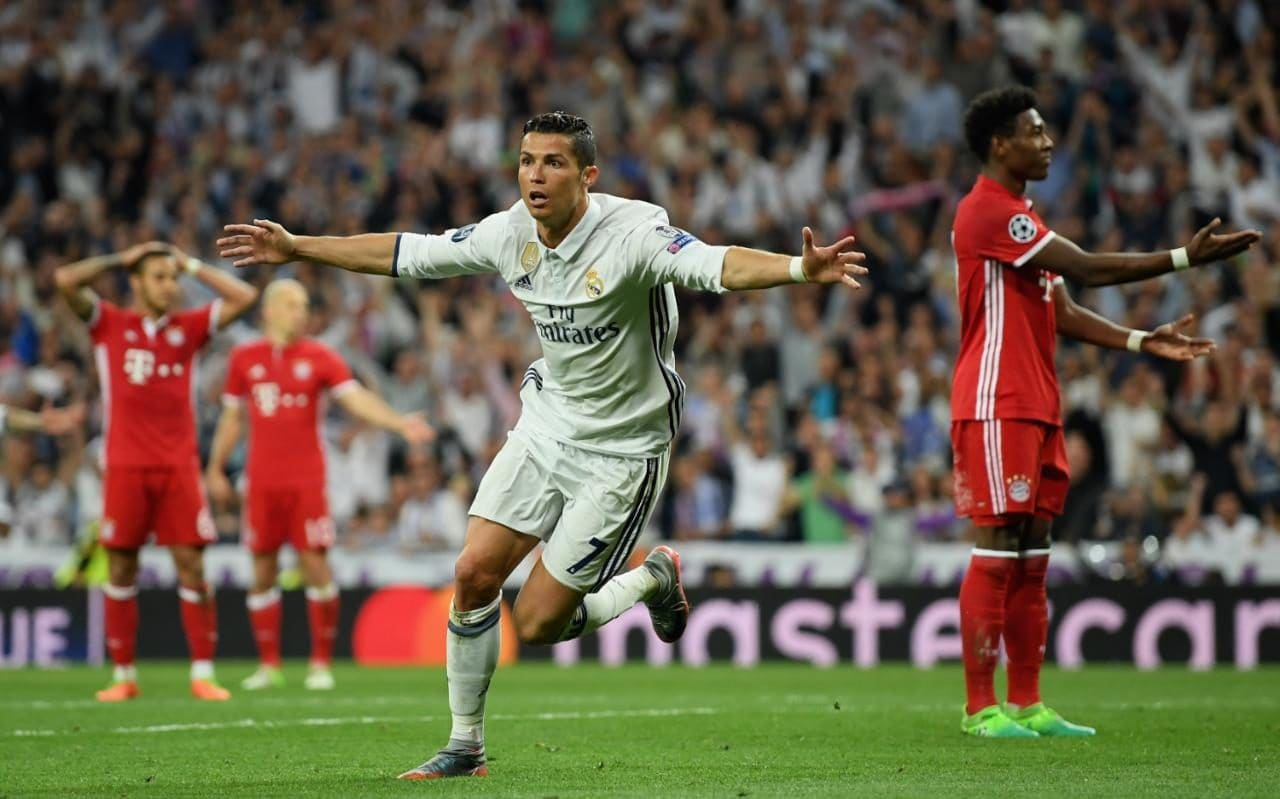 Sofa Score Real Madrid Barcelona Real Madrid 4 Bayern Munich 2 Aet 6 3 On Aggregate Referee