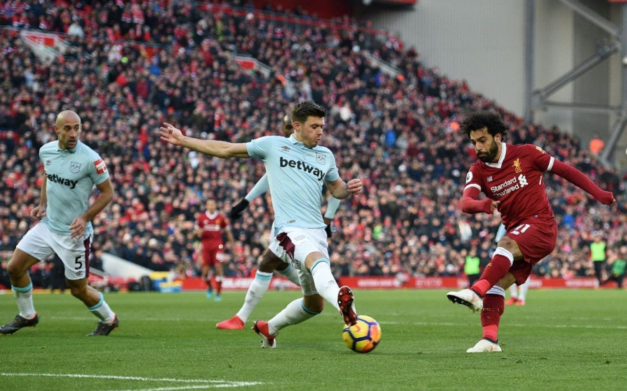 Gfk Pool Duisburg Liverpool 4 West Ham 1 Hosts Up To Second After Mo Salah Scores