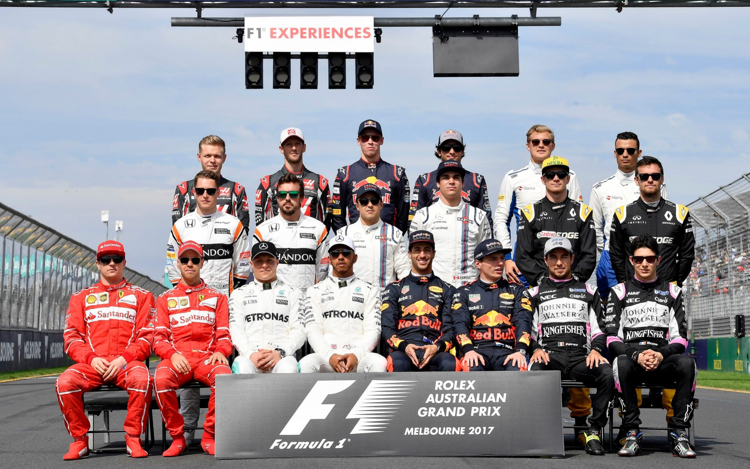 F1 2017 Drivers F1 Drivers Australian Grand Prix 2017 Pictures Celebrities