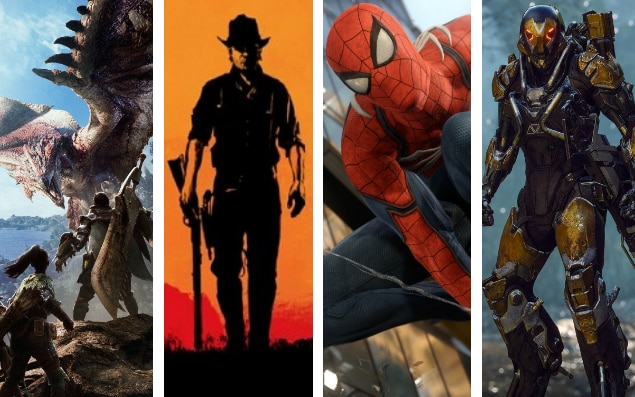 2018 Games The Biggest And Best Upcoming Video Games Of 2018