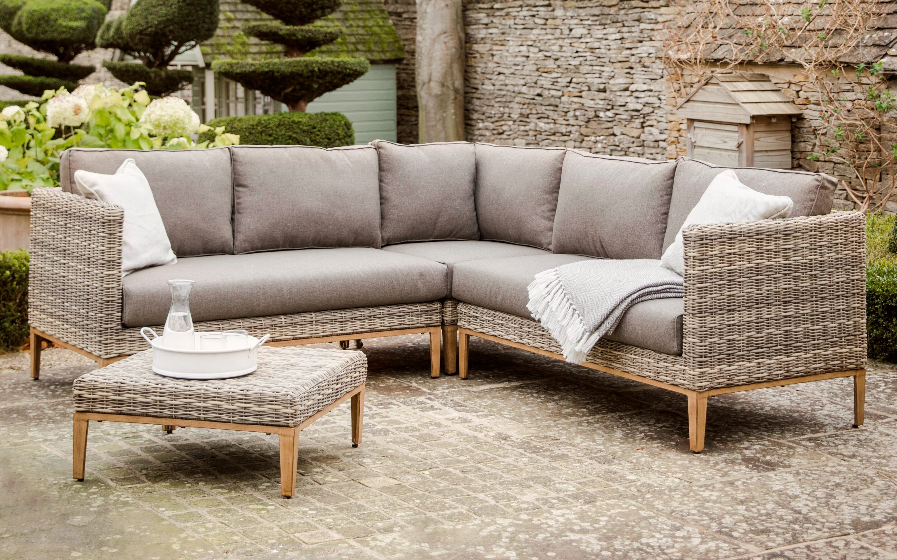 Designer Sofas John Lewis Best Rattan Garden Furniture And Where To Buy It The Telegraph