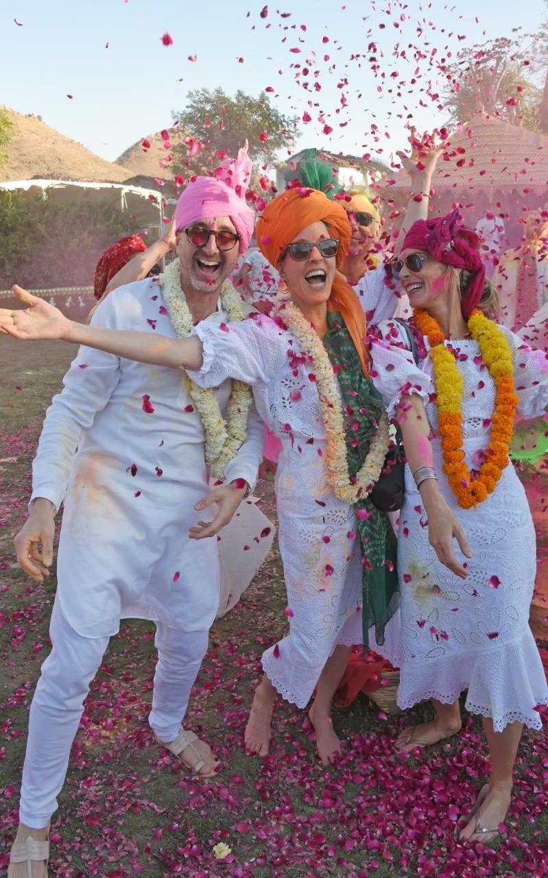 Saloni Paris Holi Saloni The Technicolour Instagram Friendly Indian Festival