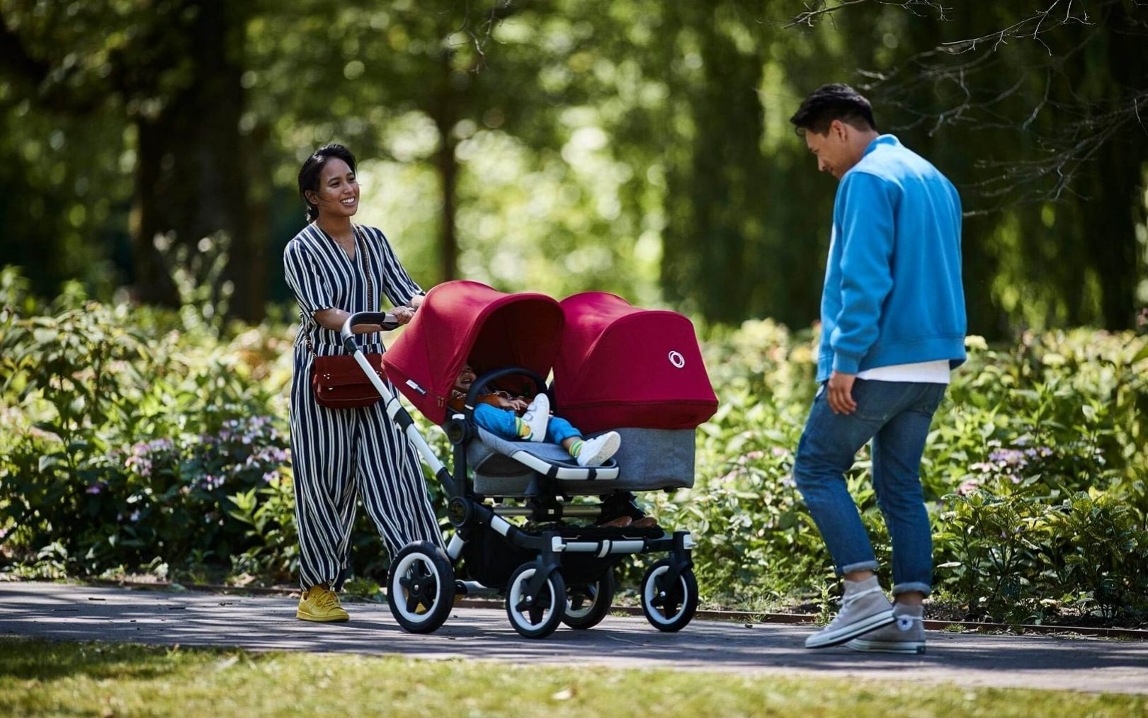 Baby Pushing Pram Youtube The Best Double Prams And Buggies According To Parents