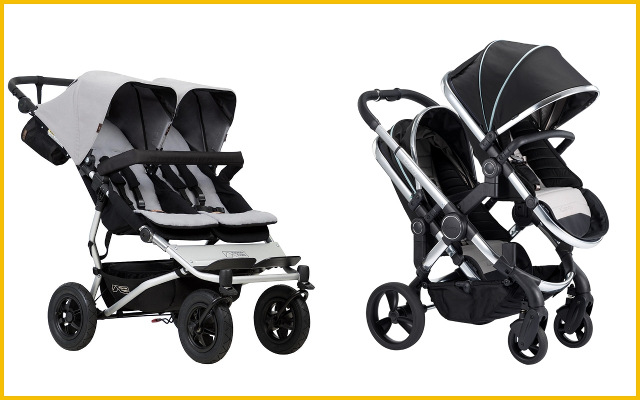 Black Buggy Days 2018 The Best Double Prams And Buggies According To Parents