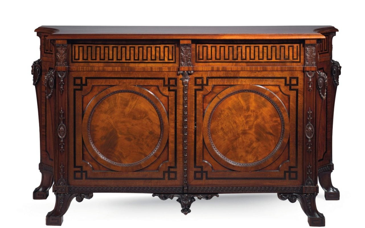 Commode Maya But Chippendale Masterpiece Stripped Of Ivory Before Christie S Sale
