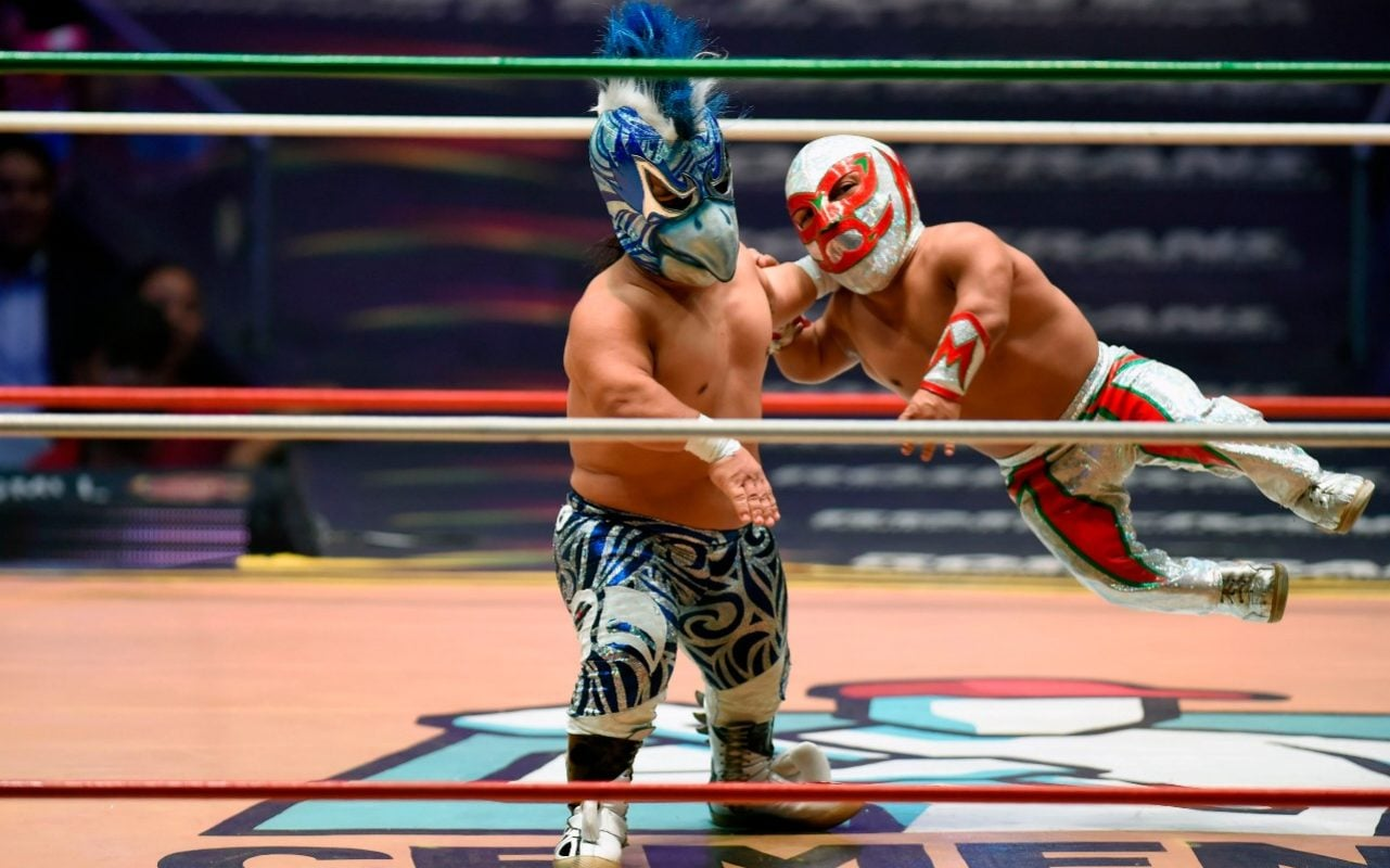 Lucha Libre Meet Microman The Pint Sized Wrestler Leading A 39lucha