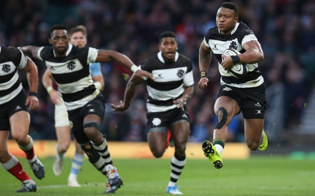 Springbock Hocker South Africa S Aphiwe Dyantyi Poised To Take Rugby World Cup By