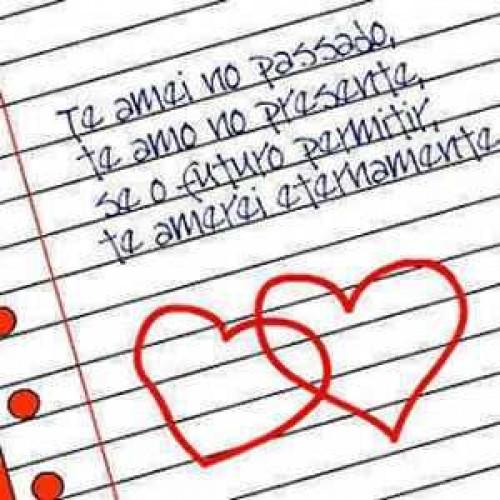 Carta de Amor Com Fundo Musical