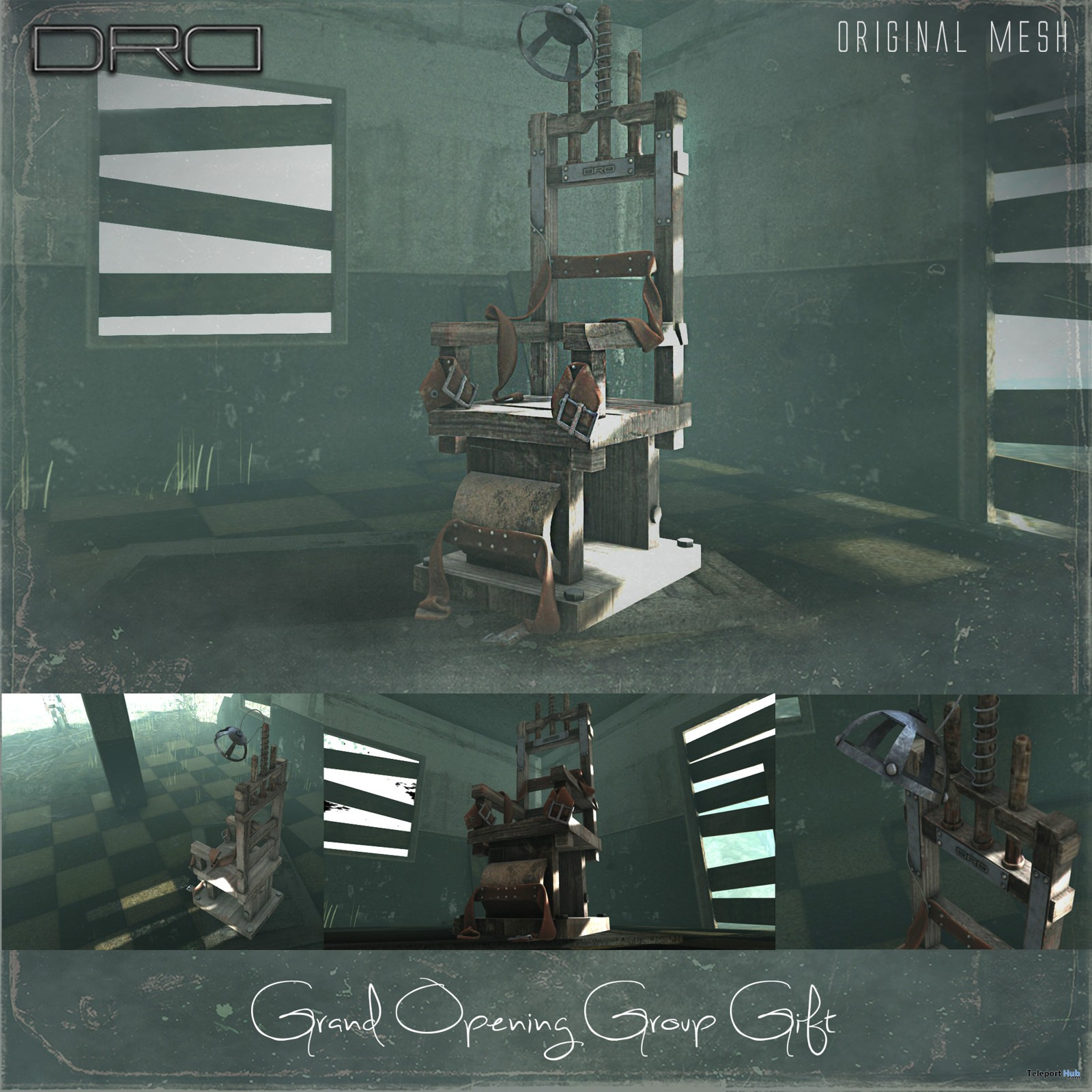 Second Life Store Electric Chair Store Remodeling Grand Opening Group Gift By Drd