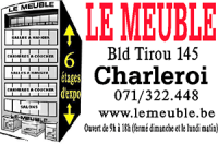 Le meuble charleroi  Table de lit