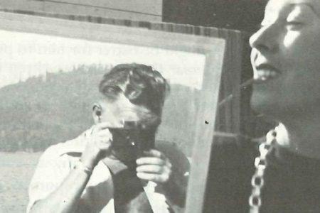 Malcolm Lowry und Margerie Lowry in Dollarton, Kanada