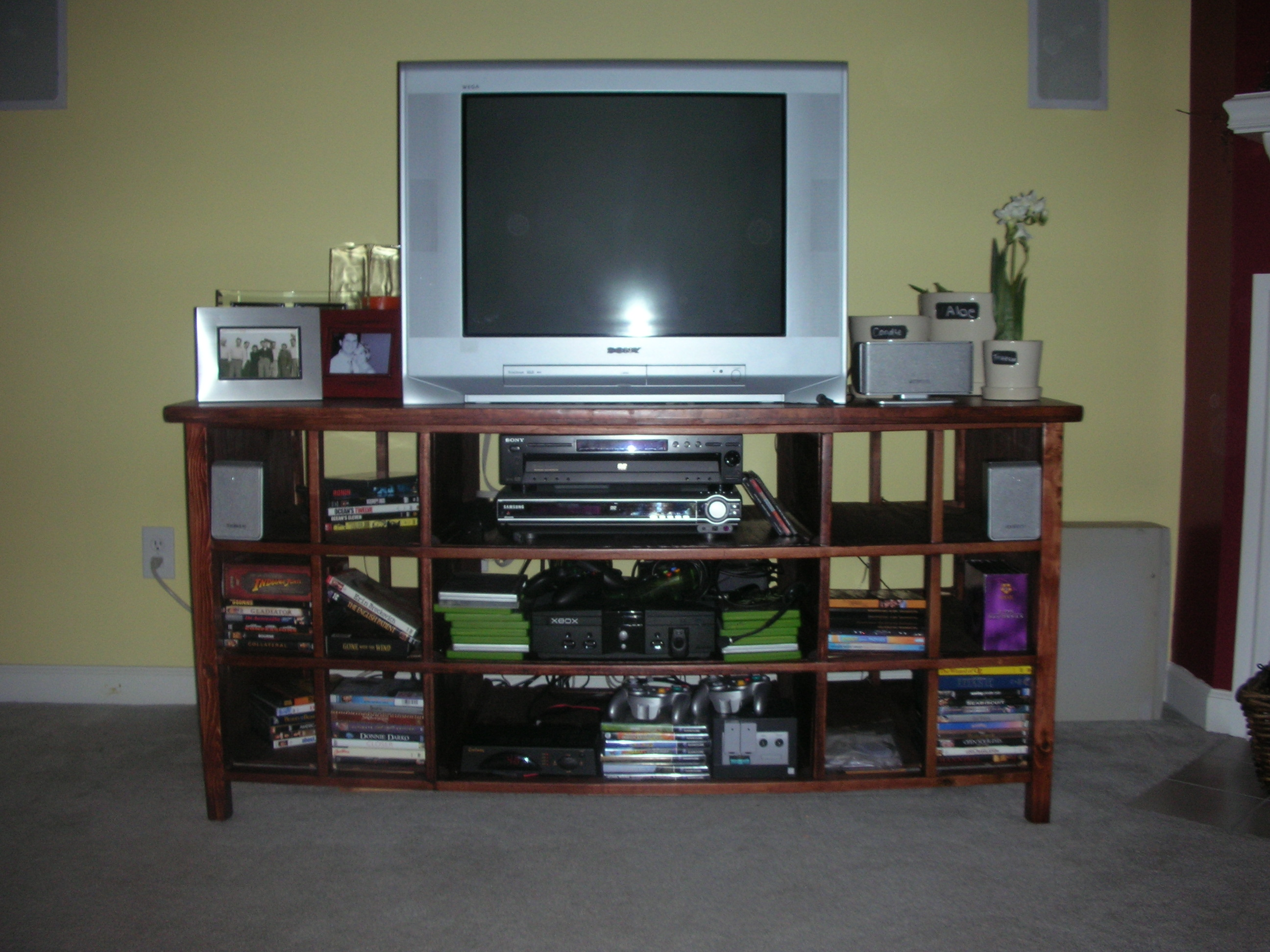 Tv Stand Designs Pdf : √ how to build a tv stand out of wood making wood doors diy