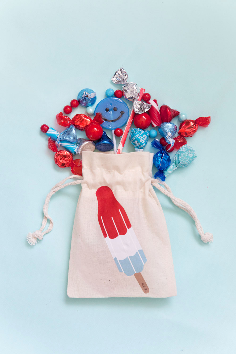 Diy 4th Of July Goodie Bags With Free Printables From Tell Love And Party