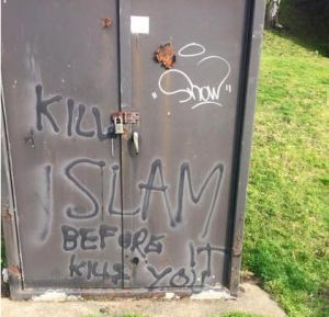 Hate graphics Birmingham