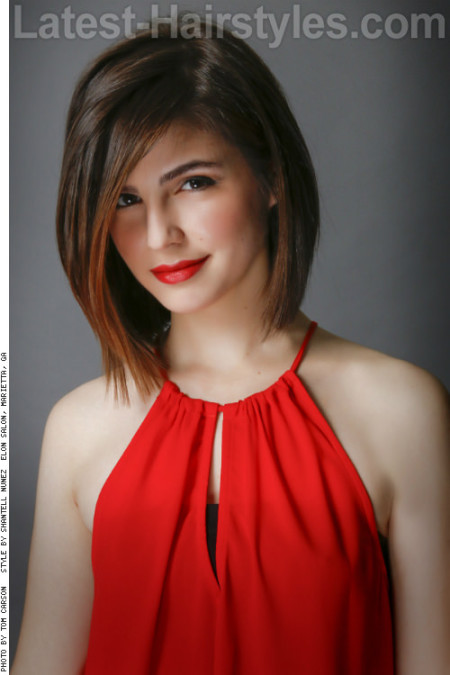 Medium-Length-Bob-with-Highlights