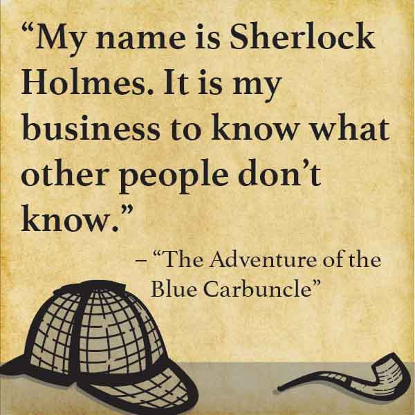Sherlock Quotes