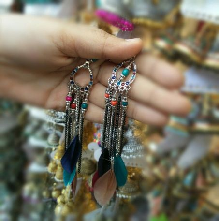Colorful Feather Tassels