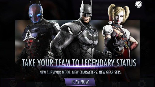 FREE console quality mobile games | Injustice: Gods Among Us free download