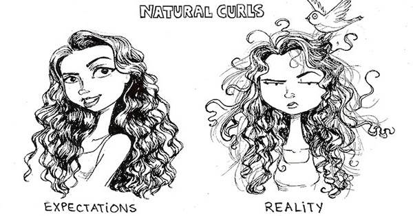 curly hair, problems, curls, hair, curly, loose curls, wave