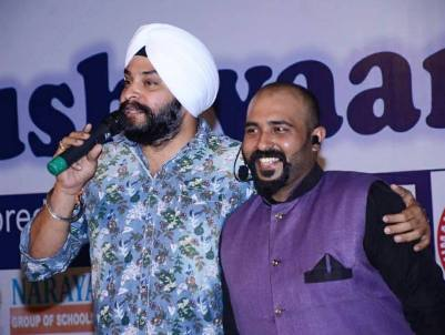 Aarna Foundation's Co-founder Chinu Kwatra With Actor Harpreet Singh