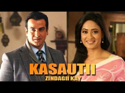 Actor Ronit Roy With Shweta Tiwari In Kasauti Zindagii Kay