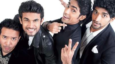 Image Courtesy : Khaleej Times Sanam - The Band