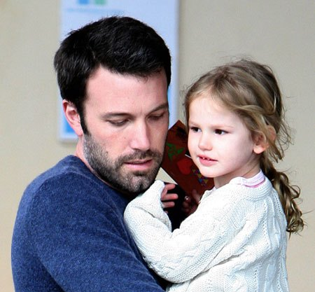 ben affleck, batman, superman, daughter, seraphina