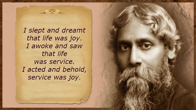 Steps to follow when writing an essay on Rabindranath Tagore in bengali