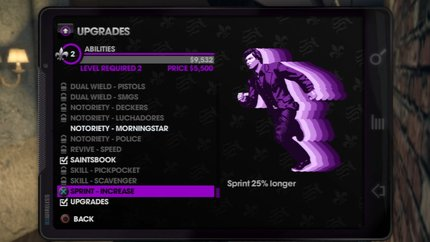 saints row level up