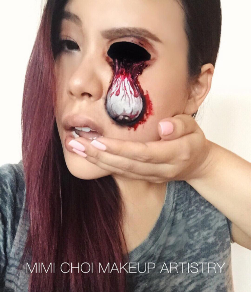 makeup, art, opitcal illusion, canada, bizarre
