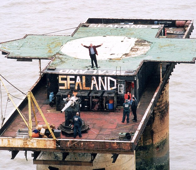 Smallest Country, Sealand, England, British, Helipad, Helicopter, ship, Vatican City, Country, Google, National Anthem, Currency, Passport, Sea, Ruff, Street, House, Roy Bets, World War 2, Prince, Suffolk Seashore, Indian