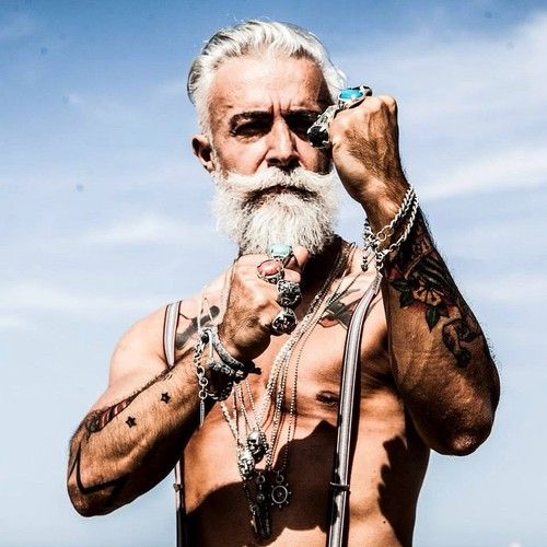 hottest, old, silver, foxes, guys, age, Instagram, hunkier, men, Gianluca Vacchi, SEA, Malibu, Anthony Varrecchia, Eric Rutherford, Bachelors, actor, hair, Alessandro Manfredini, model, Philippe Duman, Paris, mustache, beard