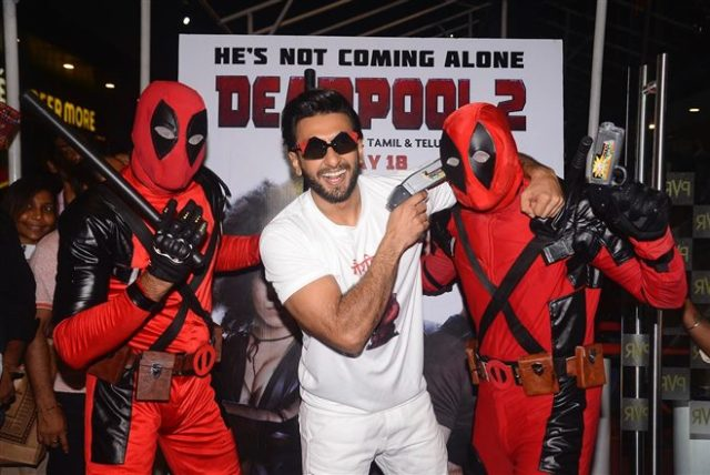 Deadpool, Deadpool 2, Hindi dubbed, Hindi, Deadpool in Hindi, Marvel, DC, Superhero, Funny, Satire, Witty, Superhero suit, Ryan Reynolds, Ranveer Singh, Bhuvan Bam, Dopinder, Karan Soni, Hollywood