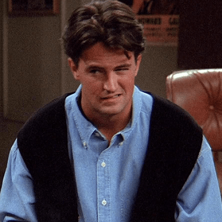 character, Chandler, sarcastic, jokes