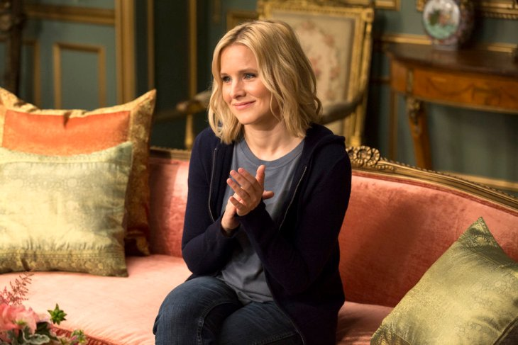 "THE GOOD PLACE -- ""Tahani Al-Jamil"" Episode 103 -- Pictured: Kristen Bell as Eleanor -- (Photo by: Justin Lubin/NBC)"