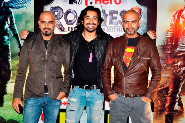 Raghu, Ranvijay and Rajeev in Roadies