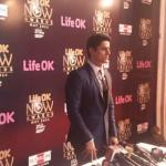 Mohit Raina on the red carpet