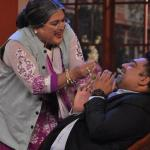 Daadi trying too hard to convince Ram for her kiss